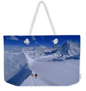 Alex Lowe On Mount Bearskin 2850 M Weekender Tote Bag