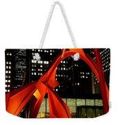 Alexander Calder's Flamingo Weekender Tote Bag