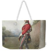 Alexander Ivanovitch Sauerweid 1783-1844 British Army. Private, Life Guards. About 1816 Weekender Tote Bag