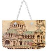 Alexander Nevsky Cathedral Weekender Tote Bag