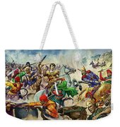 Alexander The Great At The Battle Of Issus  Weekender Tote Bag