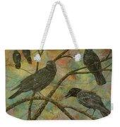 Alex's Crows Weekender Tote Bag