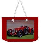 Alfa Romeo 8c 2900a Botticella Spider 1936 Painting Weekender Tote Bag