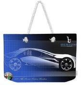 Alfa Romeo Bertone Pandion Concept Weekender Tote Bag