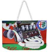 Alfa Romeo Indy Engine Weekender Tote Bag