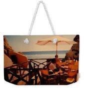 Algarve Beach Bar Weekender Tote Bag