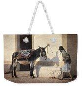 Algarve Donkey Weekender Tote Bag