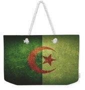 Algeria Distressed Flag Dehner Weekender Tote Bag