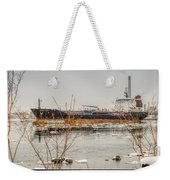 Algoma Hansa Blue Water River Walk Weekender Tote Bag