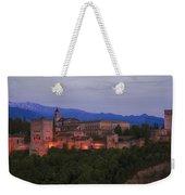 Alhambra Granada Dusk Weekender Tote Bag