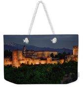 Alhambra Sunset Weekender Tote Bag