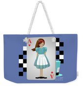 Alice 3d Flying Cards Weekender Tote Bag