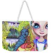 Alice And Absolem Weekender Tote Bag