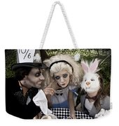 Alice And Friends 2 Weekender Tote Bag