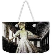 Alice And The Rabbit Weekender Tote Bag by Bob Orsillo