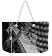 Alice Coltrane On Harp Weekender Tote Bag