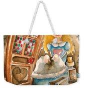 Alice In Wonderland 2 Weekender Tote Bag by Lucia Stewart
