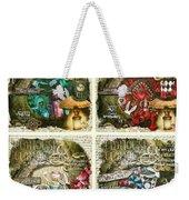 Alice Of Wonderland Series Weekender Tote Bag