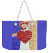 Alice Paul Weekender Tote Bag