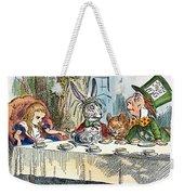 Alices Mad-tea Party, 1865 Weekender Tote Bag