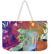Alice..to The Moon Weekender Tote Bag