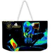 Cosmic Ac Weekender Tote Bag