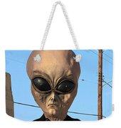 Alien Face At 6th Street Bridge Weekender Tote Bag