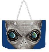 Alien From Space Weekender Tote Bag