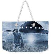 Alien Invasion Cyberpunk Version Weekender Tote Bag