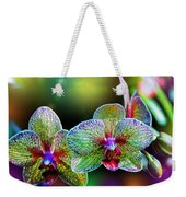Alien Orchids Weekender Tote Bag by Bill Tiepelman