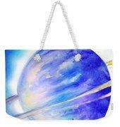 Alien Planet. Blue Light Of Hope Weekender Tote Bag
