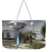 Alien Space Ship House Florida Architecture Weekender Tote Bag