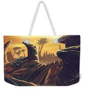 Alien Territory Weekender Tote Bag