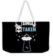 Alien Ufo Single Gift Weekender Tote Bag