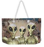 Alien Vacation - Hoover Dam Weekender Tote Bag