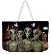 Alien Vacation - Kennedy Space Center Weekender Tote Bag