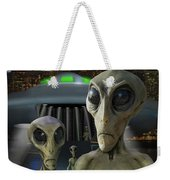 Alien Vacation - The Arrival  Weekender Tote Bag