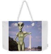 Alien Vacation - Washington D C Weekender Tote Bag