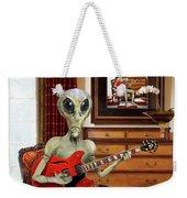 Alien Vacation - We Roll With Jazz Weekender Tote Bag