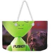 Alien's Best Friend Weekender Tote Bag