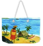 Alihi Hawaiian For Chief #57 Weekender Tote Bag