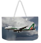 Alitalia Embraer Erj-175std Weekender Tote Bag