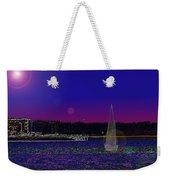 Alki Ghost Sail Weekender Tote Bag