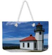 Alki Point Light Weekender Tote Bag