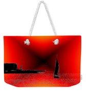 Alki Sail 2 Weekender Tote Bag