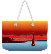 Alki Sail 3 Weekender Tote Bag