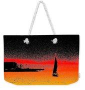 Alki Sail  Weekender Tote Bag