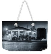 All Aboard The Fog Express Weekender Tote Bag