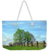 All Fenced In Along The Blue Ridge Parkway Weekender Tote Bag