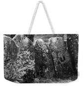 All In A Row At Fuerty Cemetery Roscommon Ireland Weekender Tote Bag